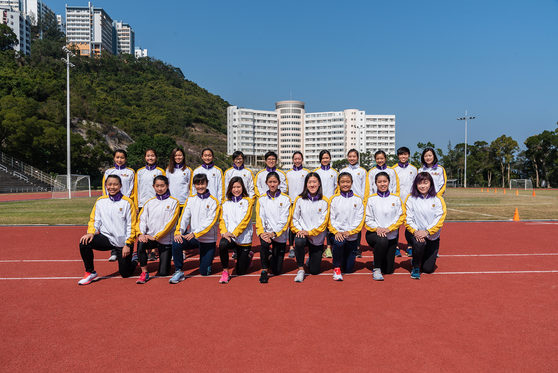 Athletics girls 2018 2019 s