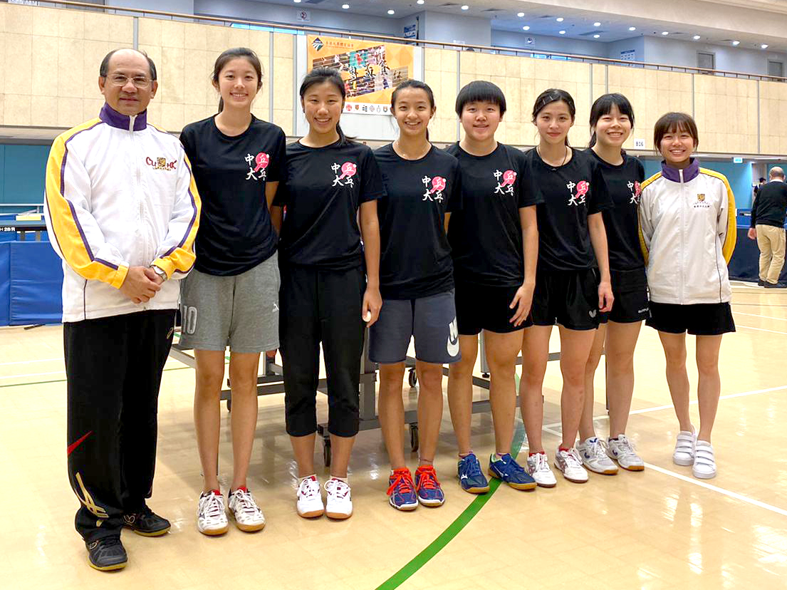 Tabletennis girls 2019 2020