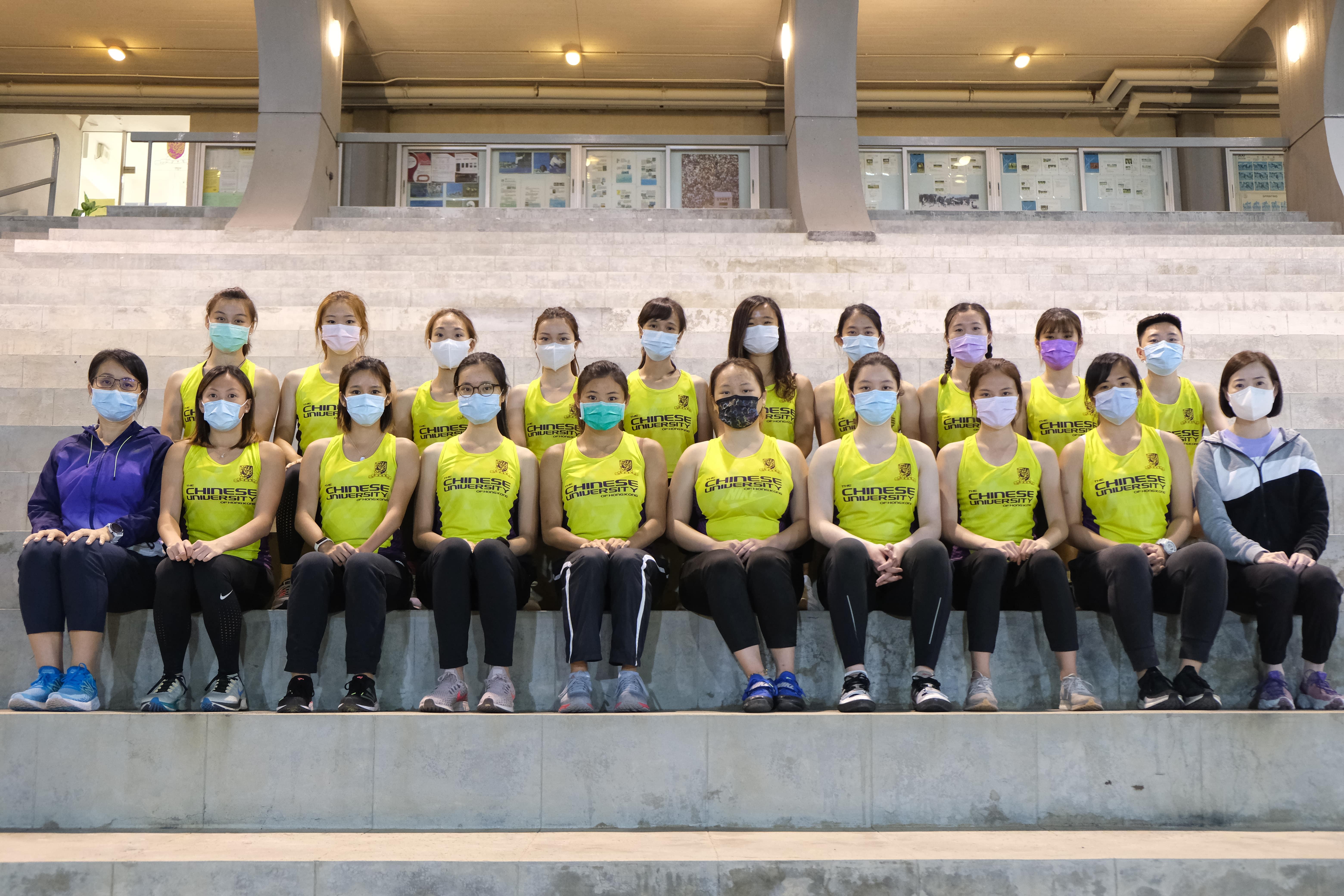 Athletics girls 2020 2021