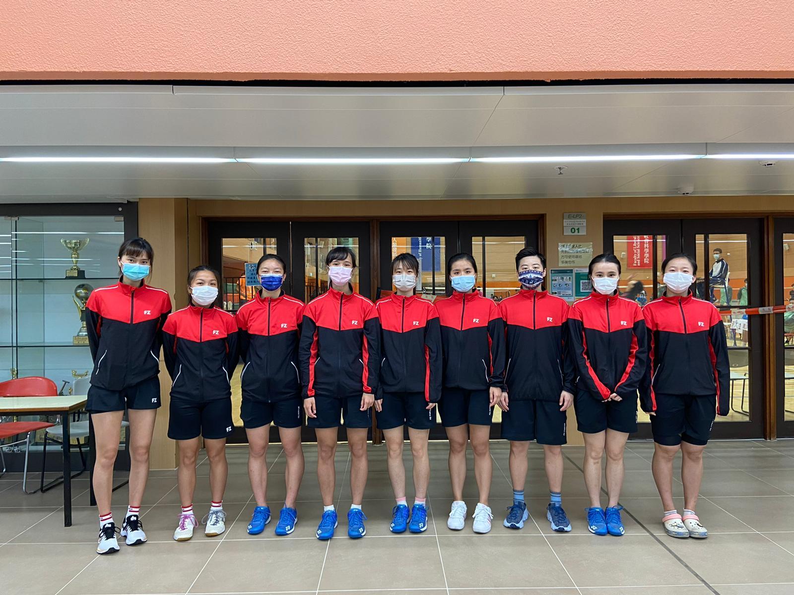 Badminton girls 2020 2021