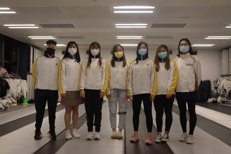 Fencing girls 2020 2021