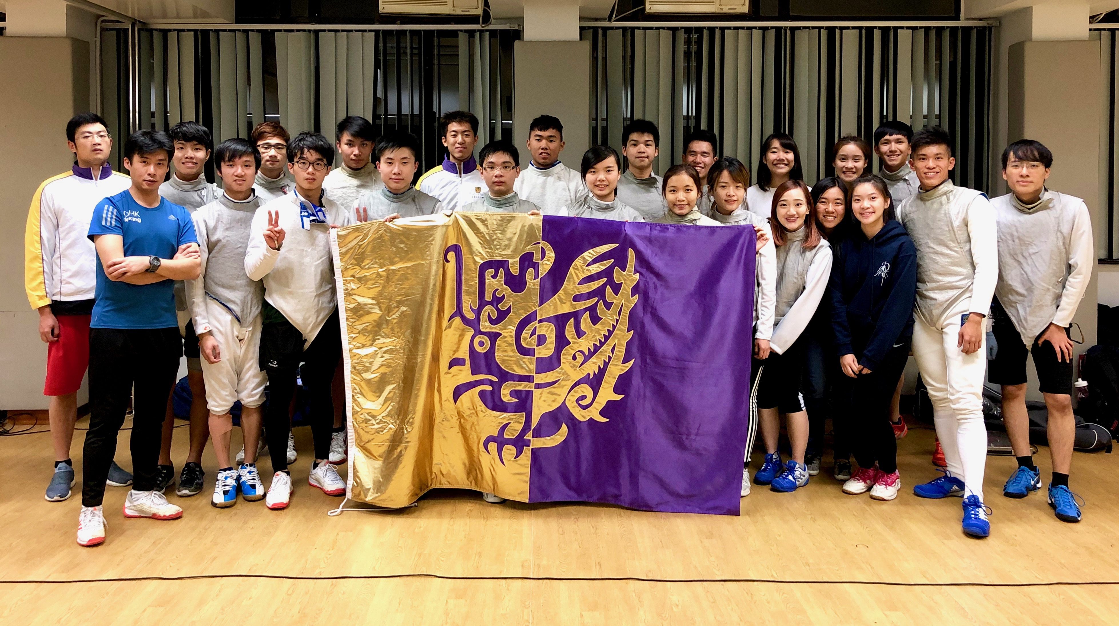 Fencing team 2018 2019