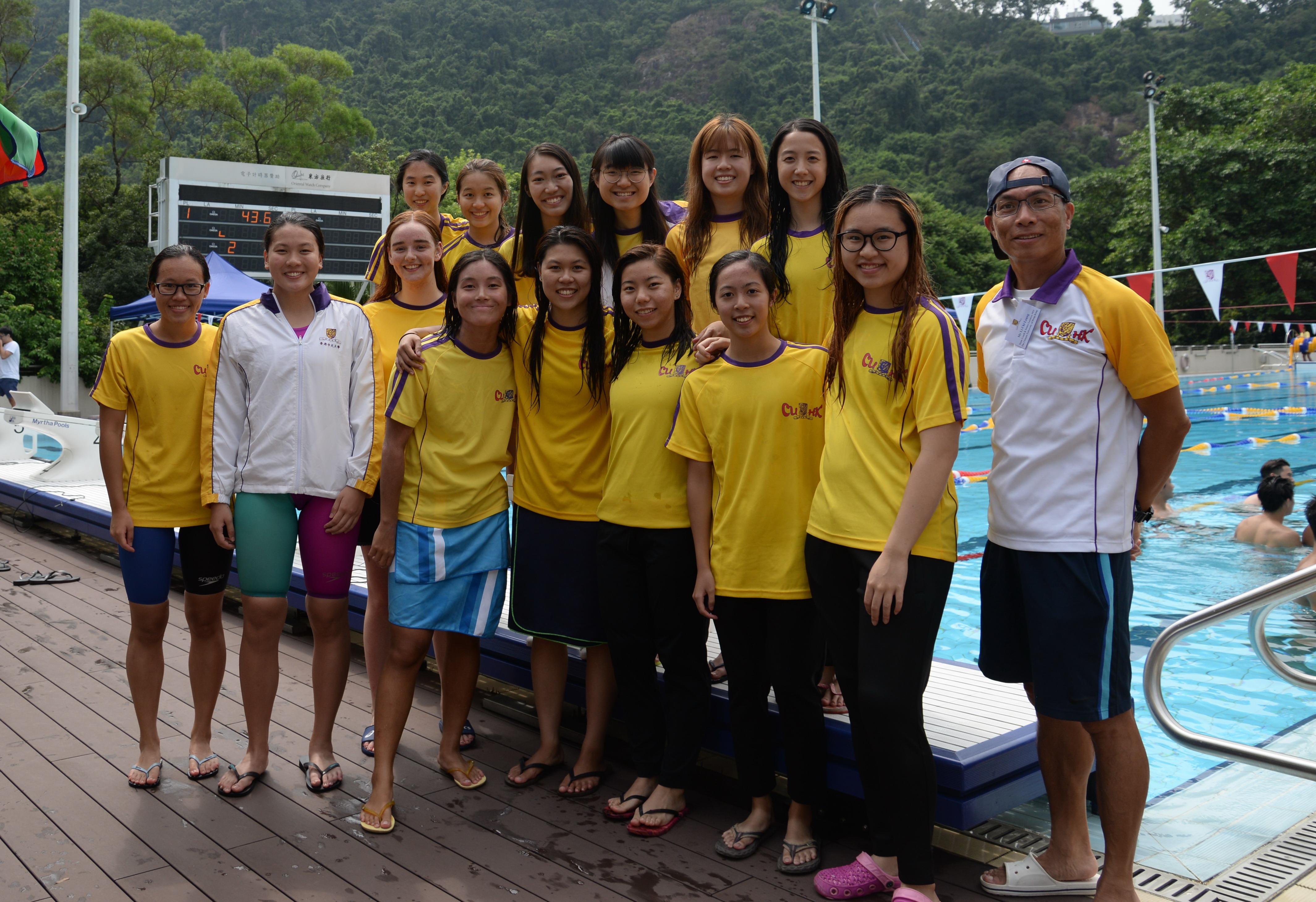 Swimming girls 2019 2020