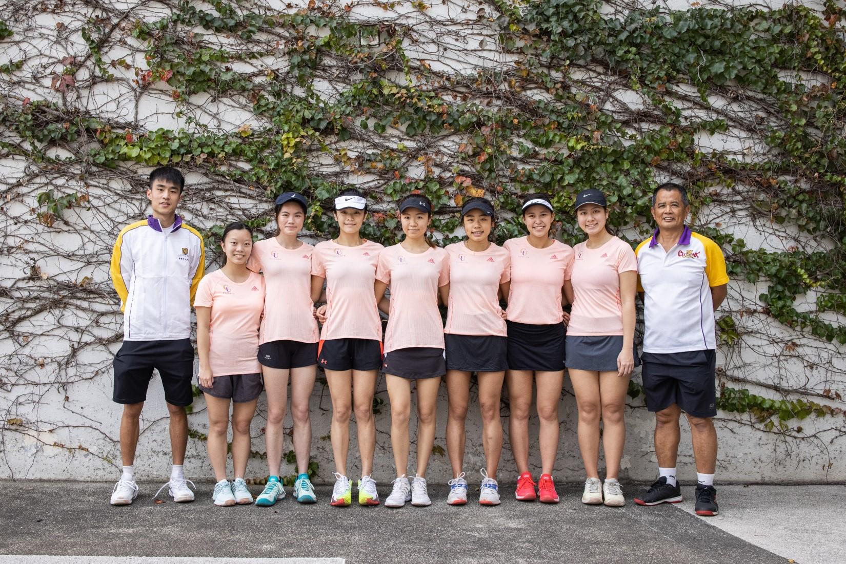 Tennis girls 2019 2020