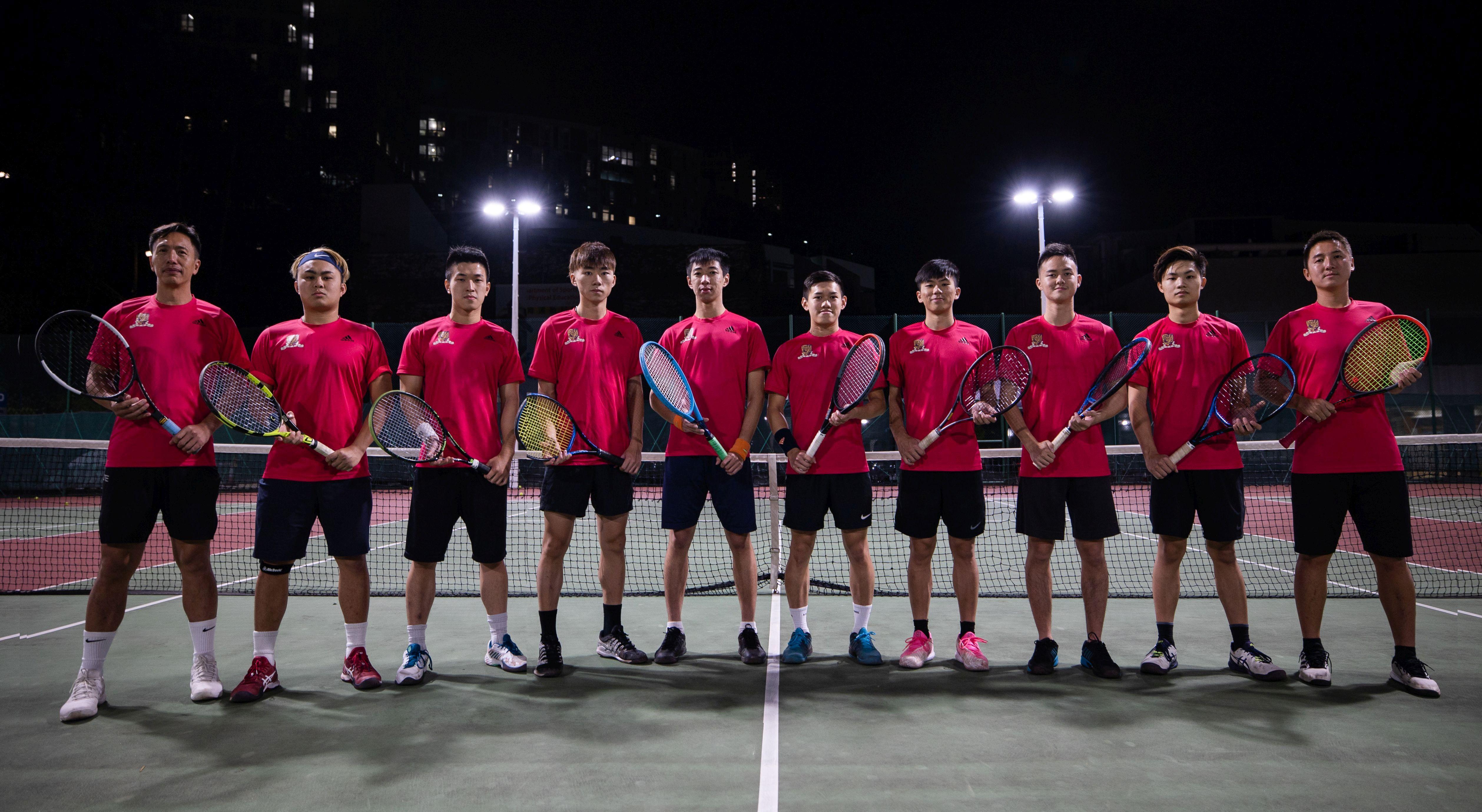 Tennis boys 2019 2020