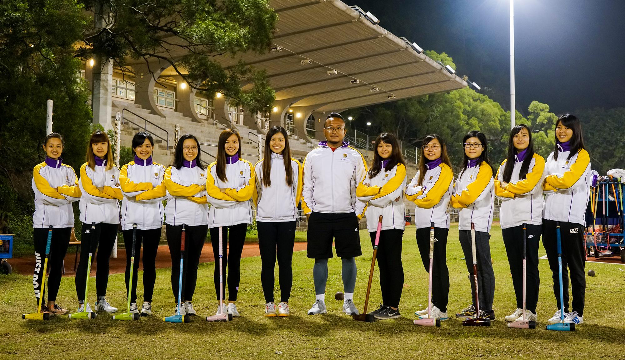 Woodball girls 2018 2019
