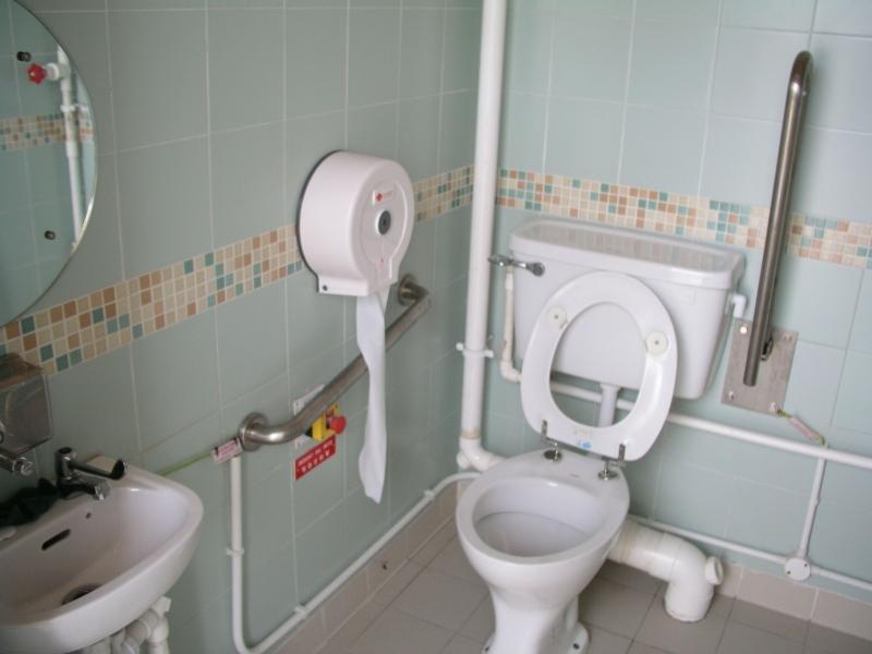 toilet disable
