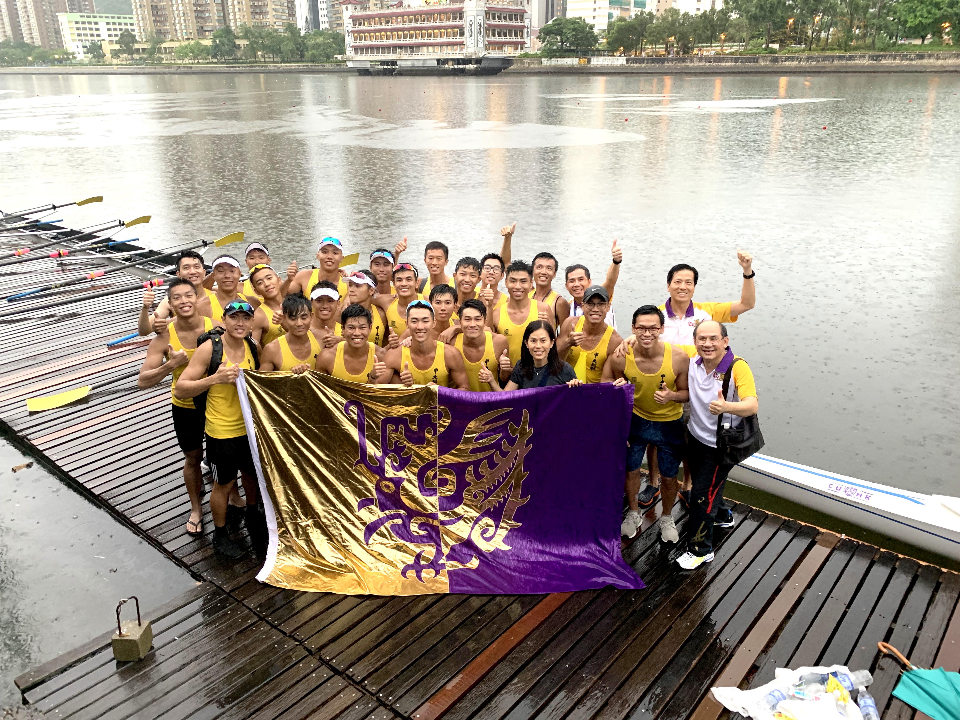 成龙挑战杯2019年全港大学赛艇锦标赛