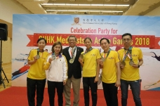 Celebration Party For CUHK Medalists in Asian Games 2018_9